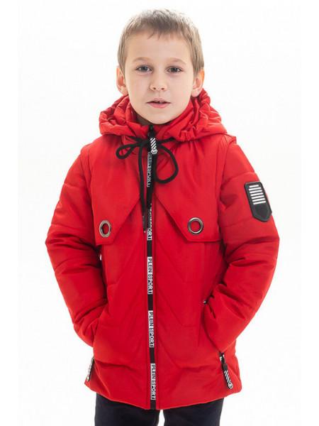 Куртка-жилет ВСЕВОЛОД весенне-осенняя (красный)