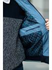 Куртка 7925-1 ДОННИ демисезонная д/мал (синий/голубой)