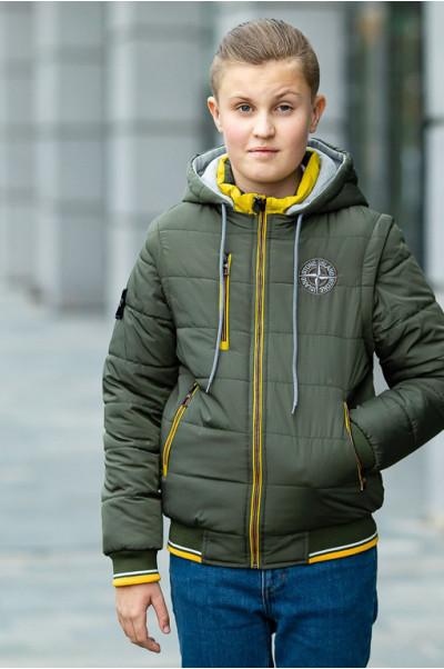 Куртка ДОННИ демисезонная д/мал (хаки)