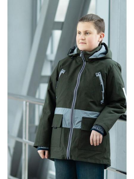 Куртка СТИВЕН демисезонная д/мал (хаки)