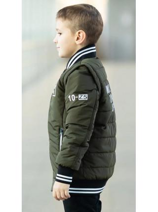 Куртка ВИЛЬФ демисезонная д/мал (хаки)