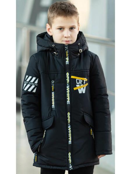 Куртка ОЛАФ демисезонная д/мал (графит)
