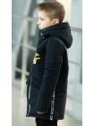 Куртка 7936-1 ОЛАФ демисезонная д/мал (графит)