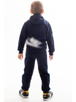 Детский спорт.костюм АВЕНИР д/мальч. (т.синий+голубой)