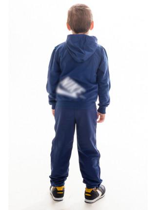 Подростковый спорт.костюм АВЕНИР д/мальч. (джинс+голубой)