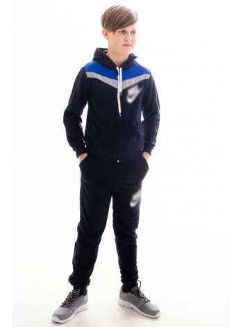 Детский спорт.костюм АВЕНИР д/мальч. (т.синий+электрик)