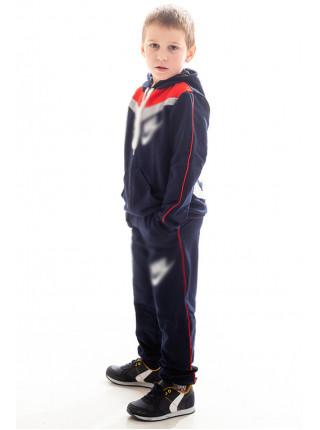 Детский спорт.костюм АВЕНИР д/мальч. (т.синий+красный)