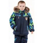 Зимние комплекты для мальчиков (куртка + полукомбинезоны)