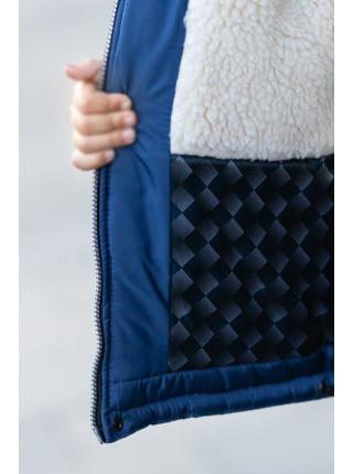 Зимняя куртка КУЗЬМА д/мал (т.синий)