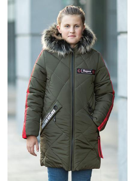 Зимняя куртка АЙРАТ д/мальч. (хаки)