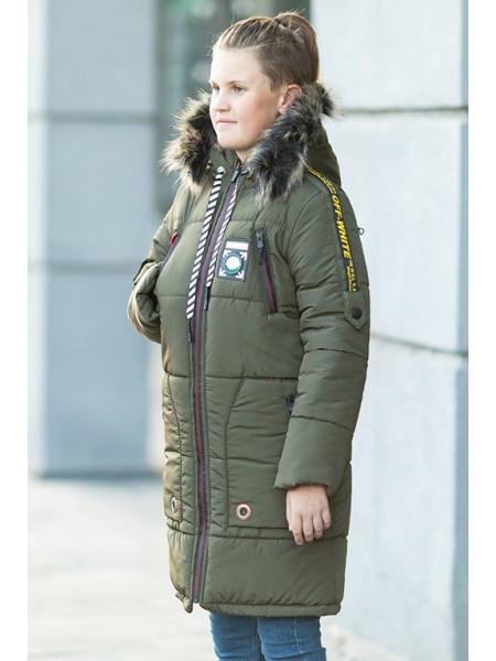 Зимняя куртка ЕМЕЛЬЯН д/мальч. (хаки)