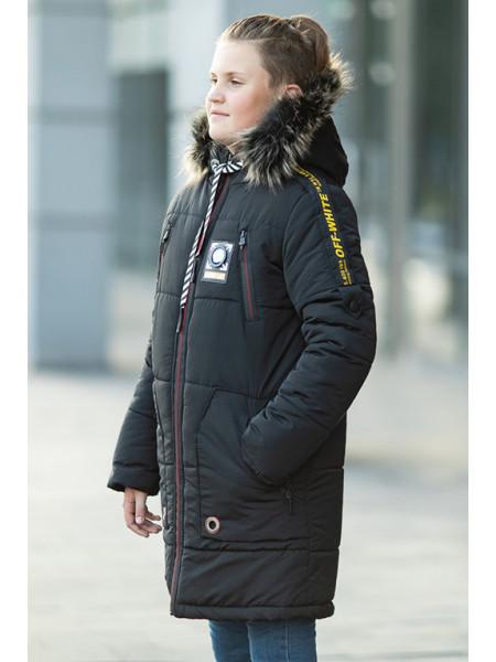 Зимняя куртка ЕМЕЛЬЯН д/мальч. (графит)