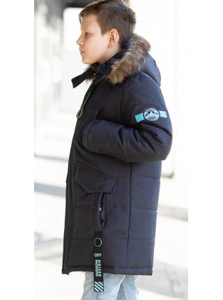 Зимняя куртка СКОР д/мальч. (графит)