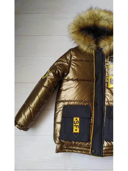 Зимняя куртка ДАМАН д/мальч. (бронза)