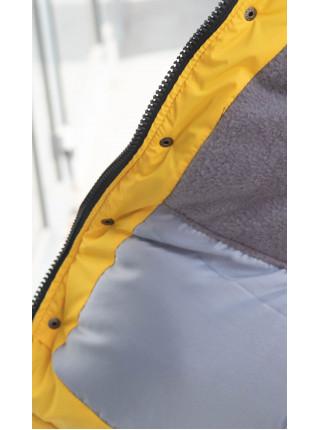 Зимняя куртка НОЛТ д/мальч. (синий/желтый)