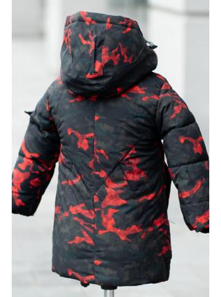 Куртка МАРЕК зимняя д/мал (черный)