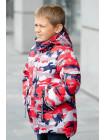 Куртка МАРЕК зимняя д/мал (красный)