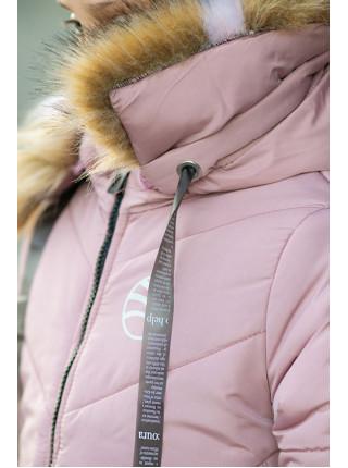 Зимняя куртка МАДЛЕН д/дев (пудра)