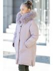 Зимняя куртка АЛЕСТА д/дев. (бежевый)