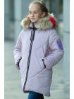 Пальто Ирада зимнее д/дев (холодная пудра)