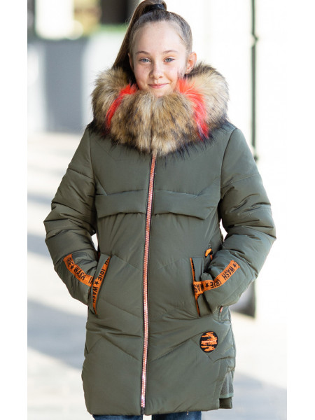 Зимняя куртка ВИТА д/дев. (хаки)