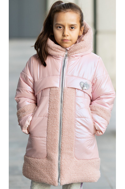 Зимняя куртка ВОЛЛИ д/дев. (розовый)
