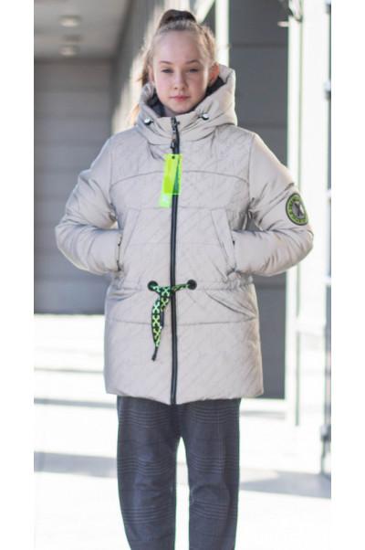 Зимняя куртка ОНИКС д/дев. (серый)