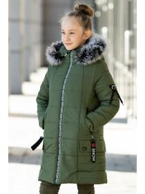Зимняя куртка ЛАУРА д/дев. (хаки)