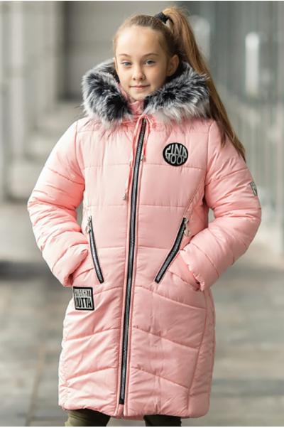 Зимняя куртка ОЛИВИЯ д/дев. (св.розовый)