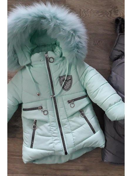 Зимний комплект РИТА д/дев (мятный)