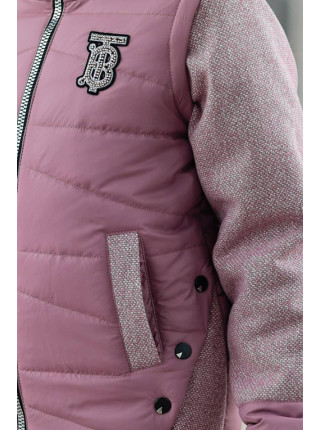 Куртка-жилет РОЗАЛИ демисезонная (чайная роза)