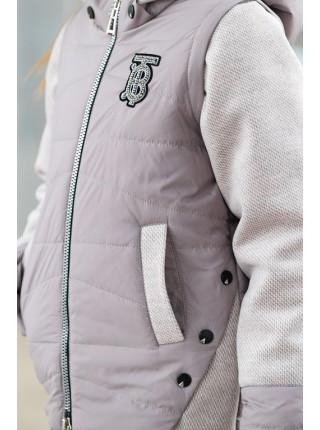 Куртка РОЗАЛИ демисезонная (капуччино)
