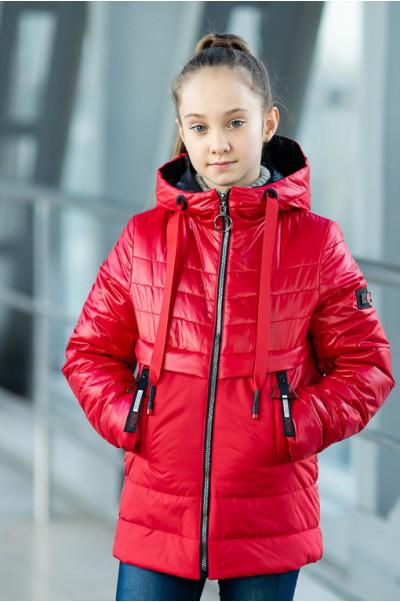 Куртка РЭЙЧЕЛ демисезонная (красный)