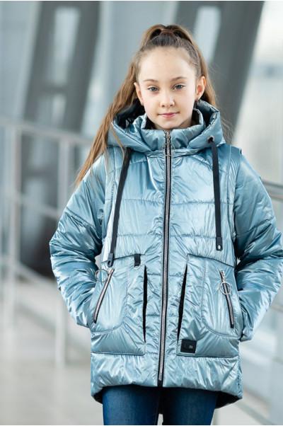 Куртка ВИВИАН демисезонная (голубой)
