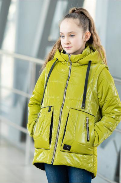 Куртка ВИВИАН демисезонная (желтый)