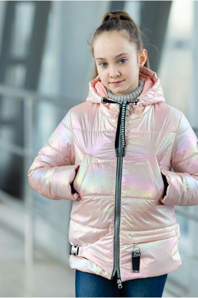 Куртка ДЖЕЛИ демисезонная (розовый)