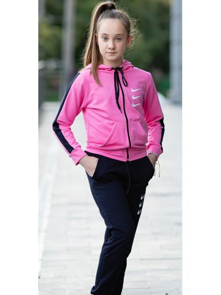 Детский спортивный костюм ПАНТЕРА д/дев. (розовый)