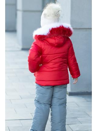 Комплект СНЕЖКА зимний (красный)