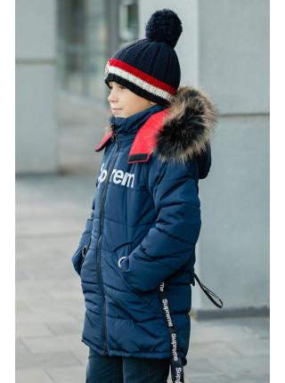 Куртка СТОРМИ зимняя (синий)