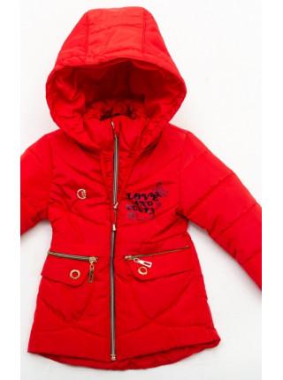 Куртка Бабетта демисезонная д/дев (красный)