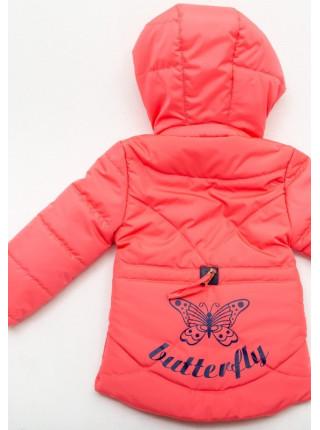 Куртка Бабетта демисезонная д/дев (коралл)