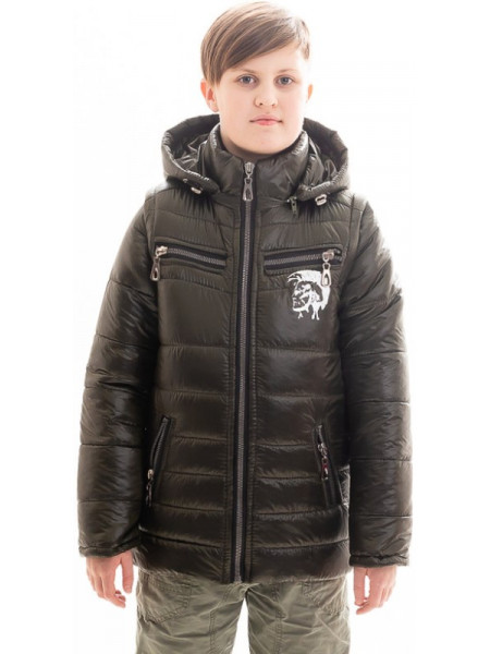 Куртка Декстер демисезонная д/мал (хаки)