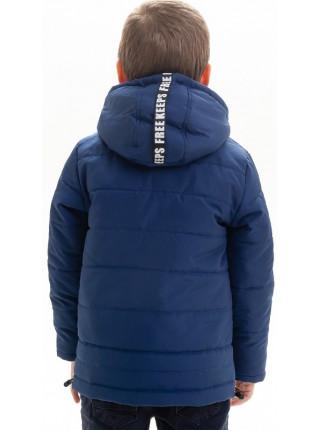 Куртка Николас демисезонная д/мал (синий)