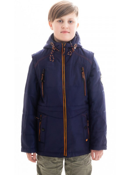 Куртка Поллок демисезонная д/мал (синий)
