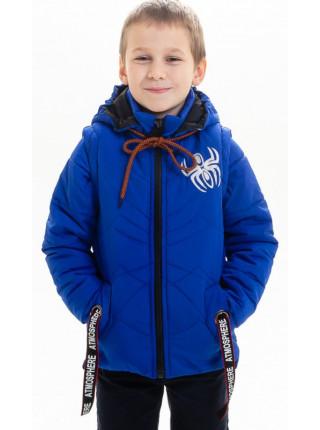 Куртка-жилет Пайпер демисезонная д/мал (электрик)