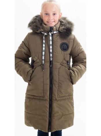 Зимняя куртка МАНУЭЛА д/дев(хаки)