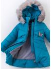 Зимняя куртка МИЯ д/дев(морская волна)