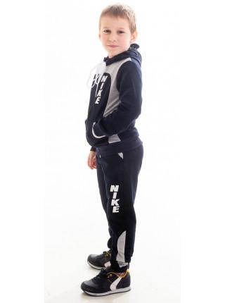 Детский спорт. костюм РАИС д/мальч (синий+св.серый)