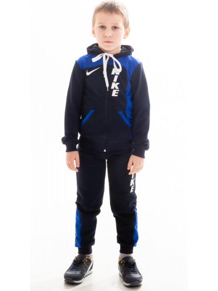 Детский спорт. костюм РАИС д/мальч (т.синий+электрик)