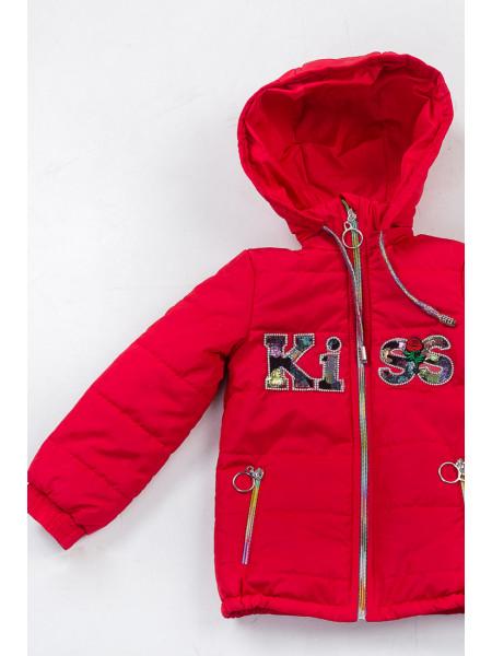 Куртка Paris демисезонная (красный)